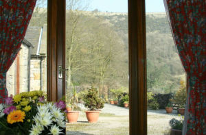 Winter veiw from the Coach House lounge