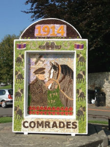 Hartington well dressing